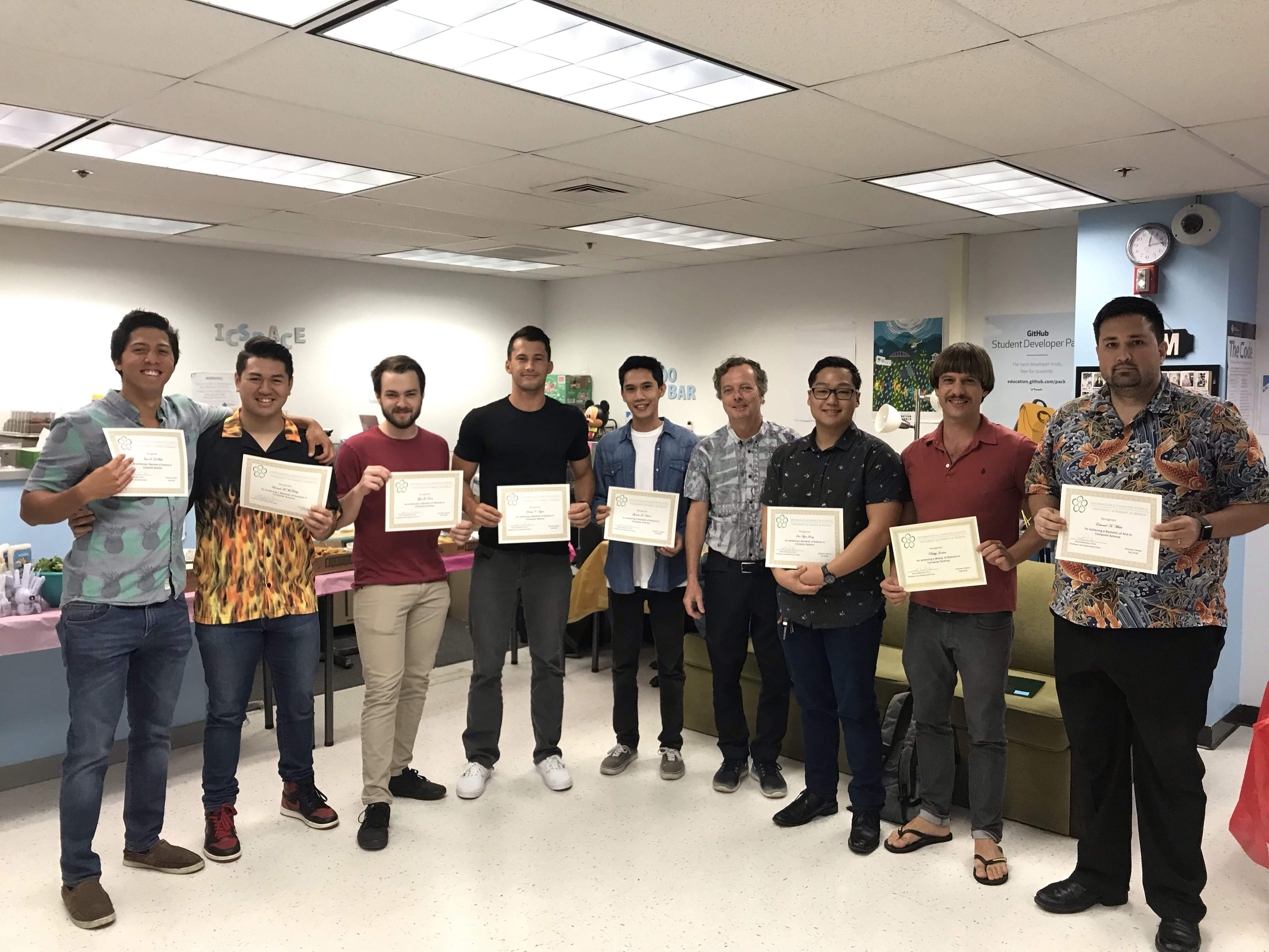 ACM Graduation Ceremony Fall 2018